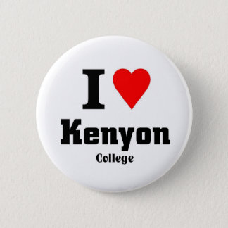 I love Kenyon 2 Inch Round Button