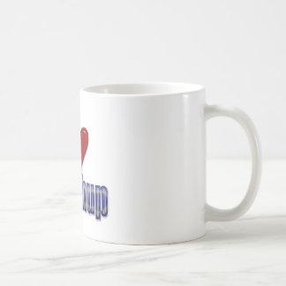 I love Ketchup Funny LOL Design Classic White Coffee Mug