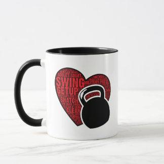 I LOVE KETTLEBELL COFFEE MUG