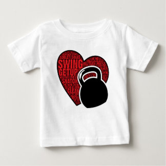 I LOVE KETTLEBELL DESIGN BABY T-Shirt