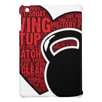 I LOVE KETTLEBELL DESIGN COVER FOR THE iPad MINI