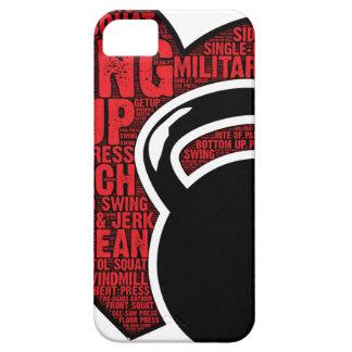 I LOVE KETTLEBELL DESIGN iPhone 5 CASE