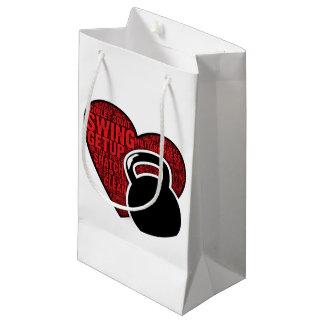 I LOVE KETTLEBELL DESIGN SMALL GIFT BAG
