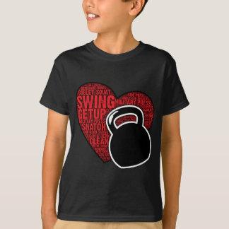 I LOVE KETTLEBELL DESIGN T-Shirt