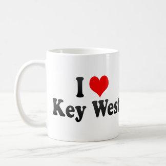I Love Key West, United States Coffee Mug
