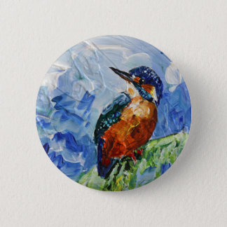 I love Kigfishers 2 Inch Round Button