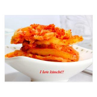 i love kimchi postcard