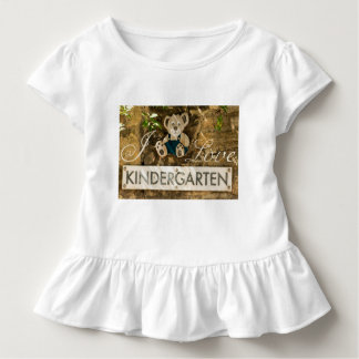 I Love Kindergarten Toddler T-shirt