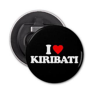 I LOVE KIRIBATI BUTTON BOTTLE OPENER