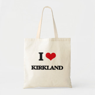 I Love Kirkland Budget Tote Bag