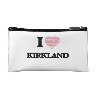 I Love Kirkland Cosmetic Bag