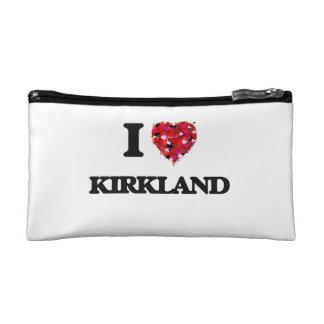 I Love Kirkland Cosmetics Bags