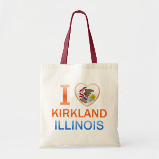 I Love Kirkland, IL Tote Bag