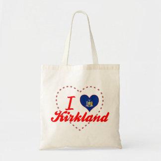 I Love Kirkland, New York Bags