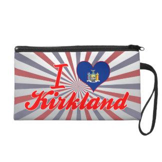 I Love Kirkland, New York Wristlet Purse