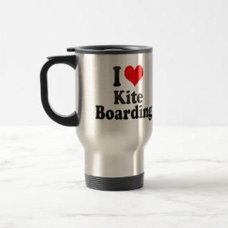 I love Kite Boarding Travel Mug