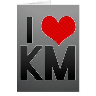 I Love KM Card