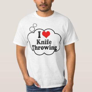 I love Knife Throwing T-Shirt