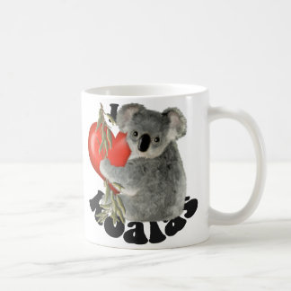 I Love Koalas Coffee Mug
