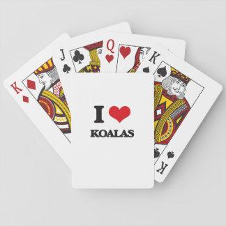 I Love Koalas Poker Cards