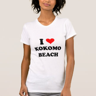 I Love Kokomo Beach Northern Mariana Islands Tshirts