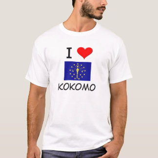I Love KOKOMO Indiana T-Shirt