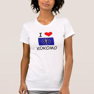 I Love KOKOMO Indiana T-shirts