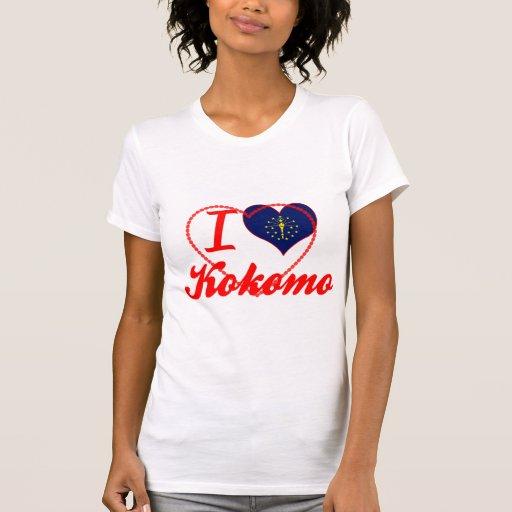 I Love Kokomo, Indiana T Shirts