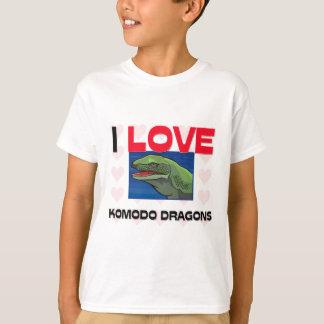 I Love Komodo Dragons T-Shirt