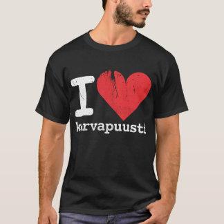I Love Korvapuusti Dark T-Shirt