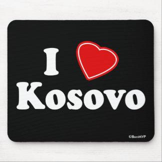 I Love Kosovo Mouse Pad