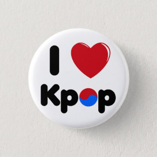 I love kpop button
