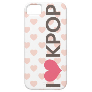 I Love Kpop Case For The iPhone 5