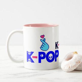 ♥I Love KPop Fabulous Classic Two-Tone Coffee Mug
