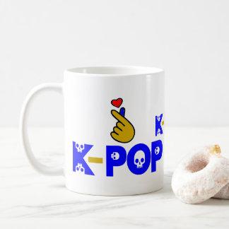 ♥I Love KPop Fabulous Classic White Coffee Mug