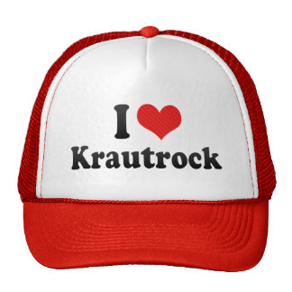 I Love Krautrock Trucker Hat