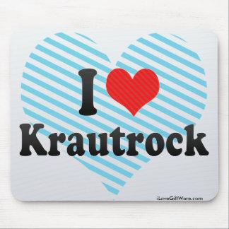 I Love Krautrock Mouse Pad