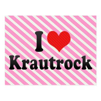 I Love Krautrock Postcard