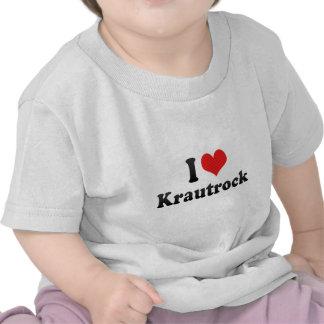 I Love Krautrock Tees