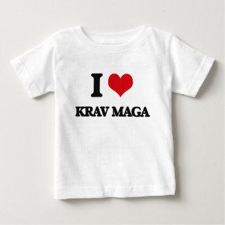 I Love Krav Maga Baby T-Shirt
