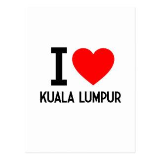 I Love Kuala Lumpur Postcard