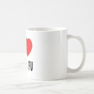 I Love Kung Fu Coffee Mug