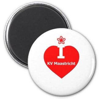 I love KV Maastricht logo 2 Magnet