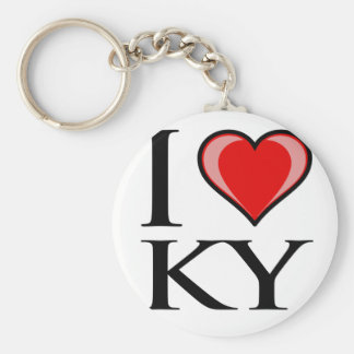 I Love KY - Kentucky Keychain