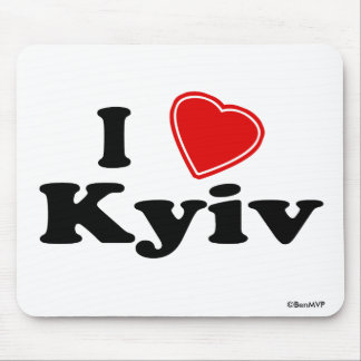 I Love Kyiv Mouse Pad