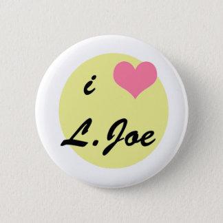 I love L. Joe 2 Inch Round Button
