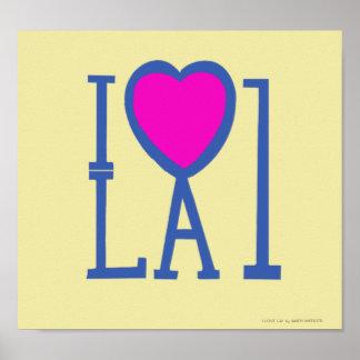 I LOVE LA1 POSTER