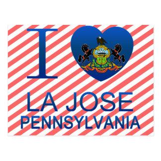 I Love La Jose, PA Postcard