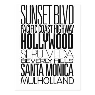 I Love LA Postcard