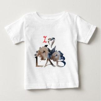 I love Lab Baby T-Shirt
